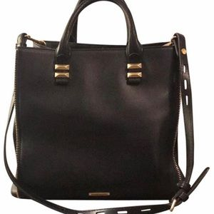 Rebecca Minkoff Black Leather Satchel